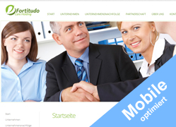 Webseite www.fortitudo-care.de